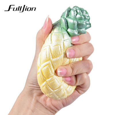 Toys & Hobbies Oyuncak Squishy Pineapple Novelty Gag Toys Squishes Stress Relief Slow Rising Gadget Soft Practical Jokes Popular Toy