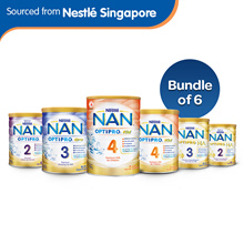 Bundle of 6![Nestle]NAN Optipro 2/HA2-Follow-up Formula HA3/Gro 3/Kid 4-GrowingUp Milk 800g/900g/1.8