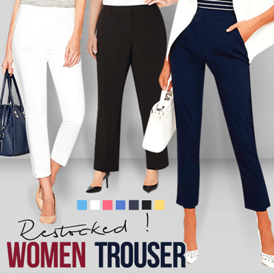 New Collection Women Trouser Deals for only Rp57.000 instead of Rp57.000