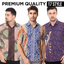 Super Price / Agrapana Batik Stamp Men Collections / Premium Batik Shirt / Office Shirts