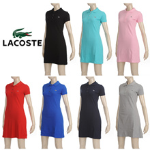 [lacoste] 라코스테 PK 원피스 6 스타일 / 100% basic lacoste pk women dress ★6 Style★