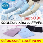 Cooling Arm Sleeves Clearance Sales Now Only 90cents for 1 pair/wristlets/arm warmers/hand cover