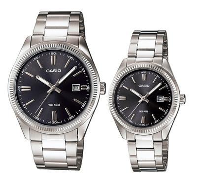 0e0e0a390c1 Qoo10 - Casio Couple Pair Watch DB-360-9A Gold  DB-360-1A Silver   Casio  Lover...   Watch   Jewelry
