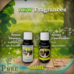 NEW FRAGRANCES!Trial Size (30ml)-[Aroma Essence/ Aroma Concentrate]For Water Air Purifier/Humidifier