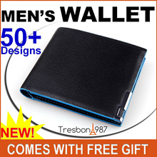 ★Men Wallet Card Holder Travel Bag Holder Korean Slim ETC Thin Long Passport Coin Zip Money