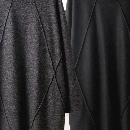 ウィスィモールHG啓二起毛ワンピースY709M 綿ワンピース/ 韓国ファッション
