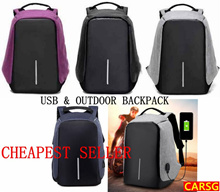 Anti theft Unisex USB Korea Japan design backpack and school bags/backpacK USB Laptop Backpack water