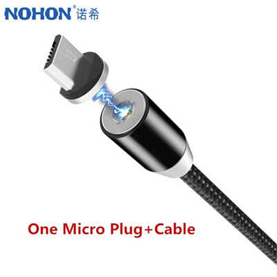 Cellphones & Telecommunications The Best Nohon Led Magnetic Charge Cable Micro Usb Phone Cable For Samsung S7 S6 S5 Note5 For Xiaomi 4 X Magnet Fast Charger Cable 1m