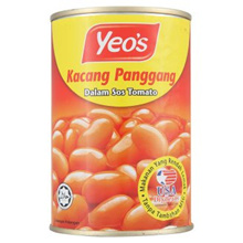 [ Halal Certification ] Yeo s Baked Beans in Tomato Sauce 425g