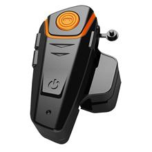 BT-S2 Bluetooth Motorcycle Helmet Intercom Interphone Headset FM Radio+Extra Earphone Motocicleta