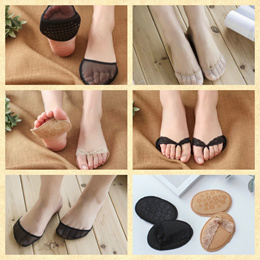 ★ Foot Soles Padding ★ Anti-Slip Soft Lightweight Cushion Insoles - Relieve Tired Feet Toe Sock