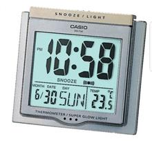 Casio DQ750 LCD alarm clock