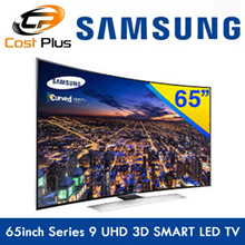 Samsung 65 Inches Series 9 Curved UHD 3D SMART LED TV (UA65HU9000KXXS)