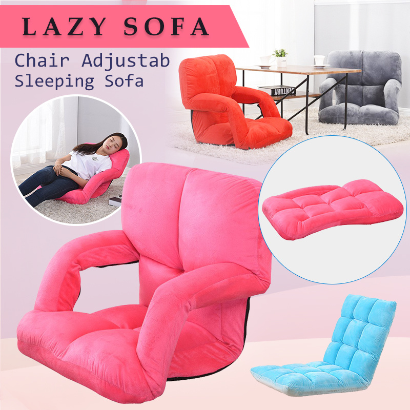 Modern Living Room Lazy Sofa Couch Floor Gaming Sofa Chair Adjustab  Sleeping Sofa Lazy Living Room