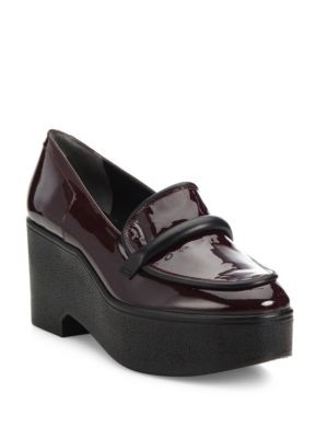 05832c07bef Qoo10 - Robert Clergerie Xocole Patent Leather Platform Loafers   Shoes