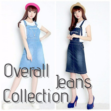 Midi Dress Jeans Collection ~~FREE INNER~~