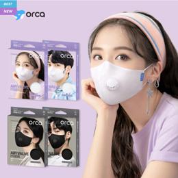 Air Valve Premium Summer Cooling Reusable korea Mask / Child / Adult