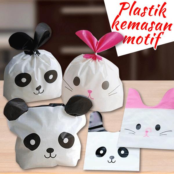 plastik kemasan kartun panda kelinci hpk026 Deals for only Rp800 instead of Rp800