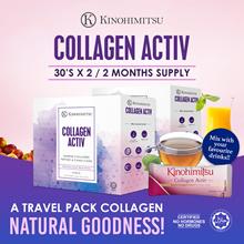 [2MTH SUPPLY] Collagen Activ Powder 30sx2 *TRAVEL FRIENDLY* Mix w Anything (Drinks/Food)