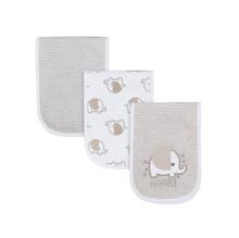 Assorted Terry Burp Cloth Set, 3pk (Baby Boy or Baby Girl Unisex)
