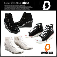 NEW WEDGE Womens Shoes  Wedge Heels Collection Womens Wedge High Heels sneakers Casual Shoe Slimming shoes Women shoes Toning shoes Rocking Shoes High Heel Shoes Gym Shoes fashion shoes
