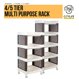 Citylife 4 /5 Tier Multi-purpose Rack * Easy to assemble *