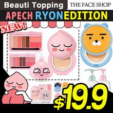 ★2018 NEW★THE FACE SHOP X KAKAO FREINDS★Hood ryon/Sweet apech/Ryon/Cushion/Eye shadow/Body[Beauti To
