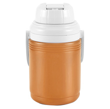 Coleman 1/3 Gallon / 1.3L Polylite Cooler Jug Durable Outdoor Ice Drink Jugs (Orange)