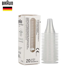 ★Braun Thermometer Thermoscan Probe Lens Filter 20pcs/Box