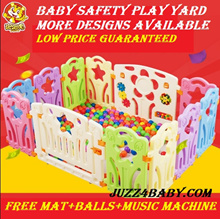 Lowest Price DIY Safety Playpen for Babies / Keep your precious baby safe in Play Yard *Safety fence