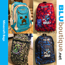 Minecraft school bag minecraft backpack Minecraft bag *ALL BAGS  WILL NOT BE RESTOCK