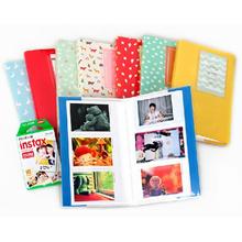 Lovable Mini Photo Insert Exquisite Album 84 Photos Storage Name Card Book Case