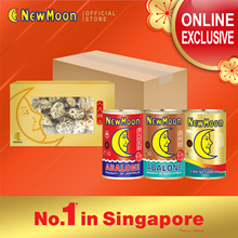 NEW MOON 2s Abalone Bundle (AU 8-10pcs + SA 16-18pcs) FREE Chicken Broth + Dried White Mushroom 60g