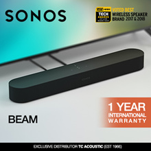Sonos Beam- The smart compact soundbar for your TV.