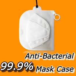 ⭐Made in Korea⭐ 99.9% Anti-Bacterial Mask Case 2 type / Authentic Korea / Special Price on Qoo10