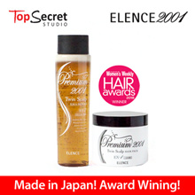 ELENCE Premium 2001 Twin Scalp Series l  Shampoo and Hair Pack For Thick/Fine/Curly and Frizzy Hair