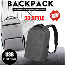 2018 Authentic 100%【TIGERNU】 Anti-Theft Unisex Breathable Laptop bag/Travel Backpack/