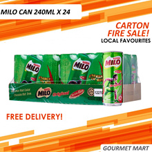 MILO CAN 240ml x 24 CARTON SALE