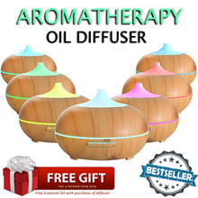 ★ 70% OFF AMAZON BESTSELLING AROMA DIFFUSER DESIGN ★7 LED LIGHTS★ NEW CONTEMPORARY DESIGN FOR HOMES★