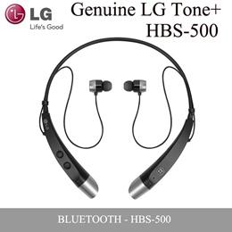 LG Tone+ HBS-500 HBS-510 Black Bluetooth Stereo Neck band Headset Earphone Talk 10m