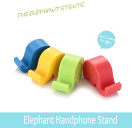 Elephant Handphone Stand/Mobile Phone Holder/HP Phone Support/Accessories/Samsung S4 Note 3/iPhone 4s 5s/Sony/HTC/Xiaomi