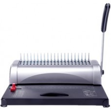 AURORA AB1288 SIZE COMB BINDING MACHINE 12 SHEETS (80g/A4) 450 SHEETS(A4)/51mm 21 HOLES SINGLE KNIFE