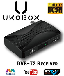 ★Local Warranty★ UKOBOX DVB-T2 Receiver / DVB-T2 Tunner / dvb t2 box / Digital TV Tuner with Antenna