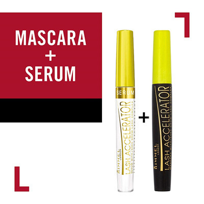 4f40a6edfed Rimmel Lash Accelerator Serum, Clear, Nourishing Serum for the Appearance  of Full, Lush