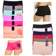 28ce957af6c7 Quick View Window OpenWish. rate:0. 6 Pack Seamless Boyshorts Womens  Underwear Lot Booty Panties ...