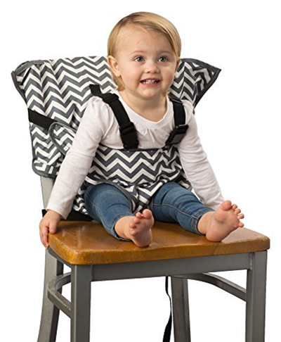 Remarkable Cozy Cover Easy Seat Portable High Chair Chevron Quick Easy Convenient Cloth Travel High Chair Gmtry Best Dining Table And Chair Ideas Images Gmtryco