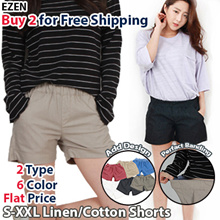 ad59120efe9  EZEN  Free Shipping Over 2Buy  2Type 6Color Women Casual Linen+Cotton