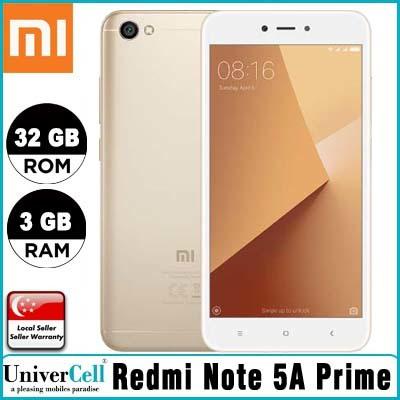 Qoo10 - Redmi Note 5A Prime : Mobile Devices