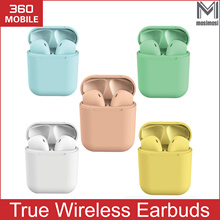 mosimosi Wireless Earbuds Colorful i12 tws inpods 12 earphone Earbuds with Mic For Android IOS