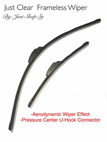 """For Toyota Prius 2000-2003 24//16/""""Aero-D Flat windscreen Wipers Front"""